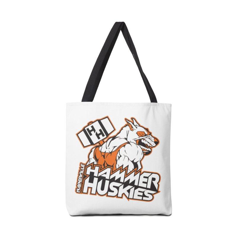 Original Hammer Huskie Accessories Tote Bag Bag by Hammer Huskies's Artist Shop