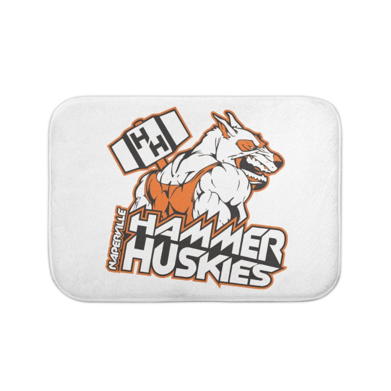 Original Hammer Huskie Home Bath Mat by Hammer Huskies's Artist Shop
