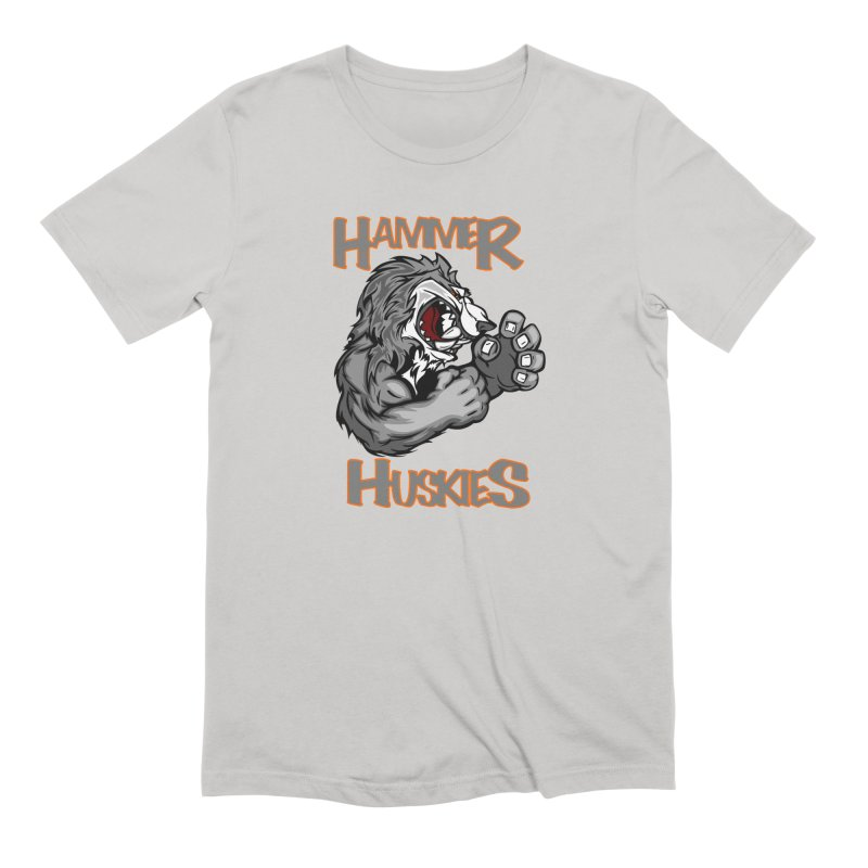 Cartoon Huskie Hands Men's T-Shirt by Hammer Huskies's Artist Shop
