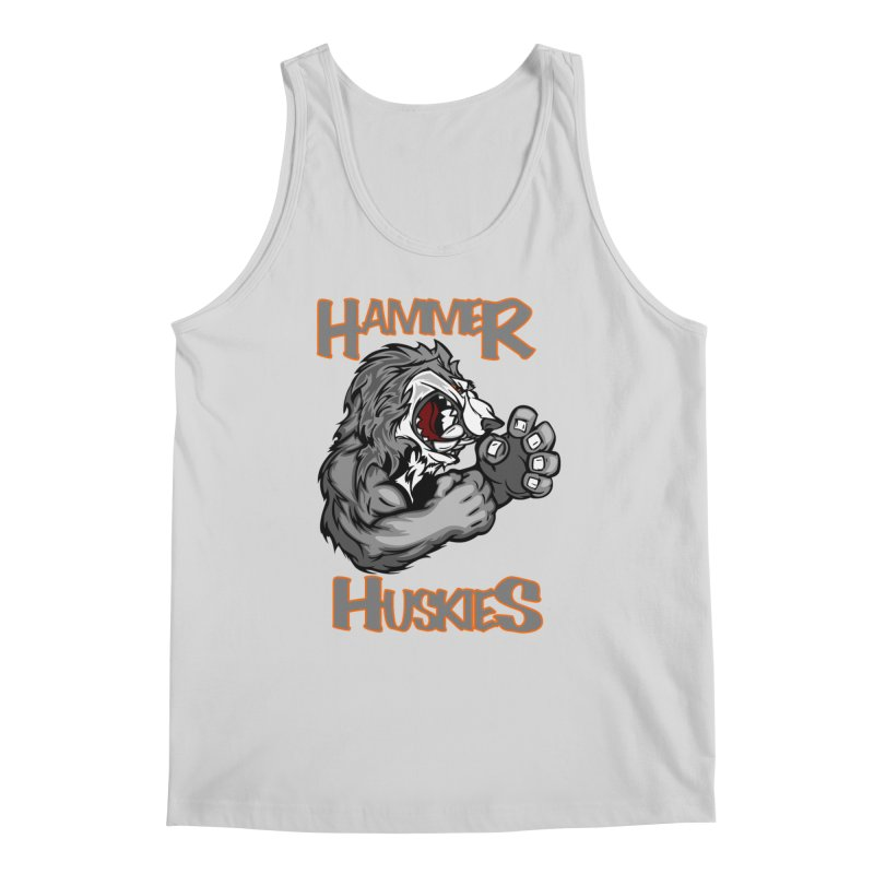 Cartoon Huskie Hands Men's Regular Tank by Hammer Huskies's Artist Shop