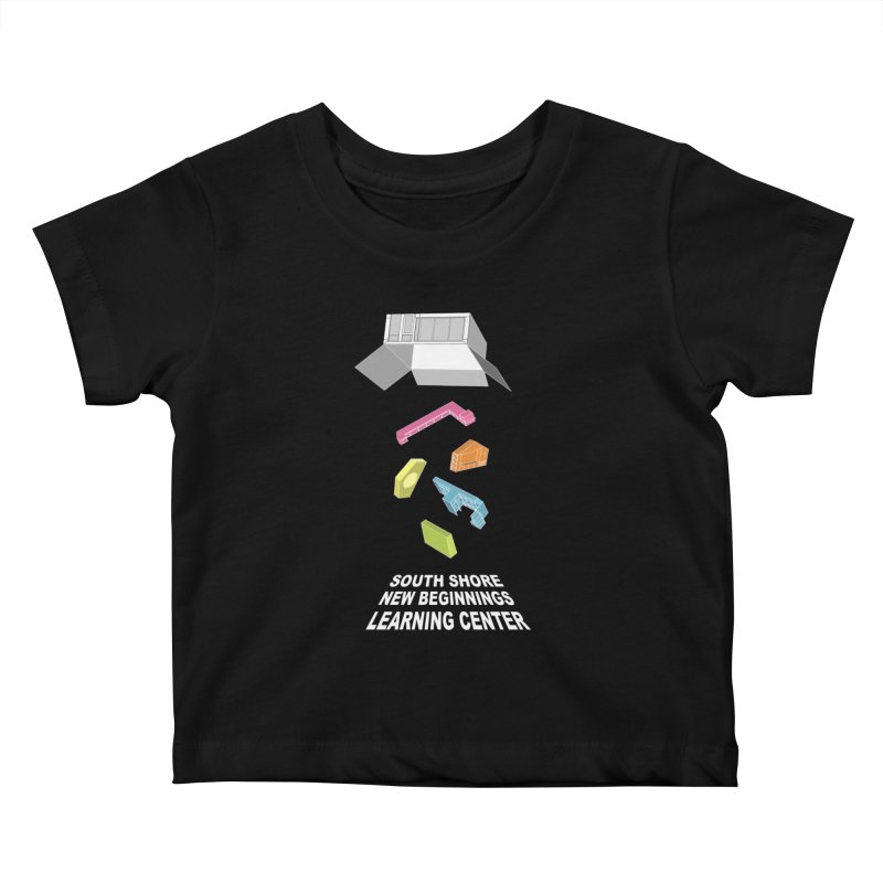 Toy Building Blocks Kids Baby T-Shirt by Hammersley Architecture T-Shirt Studio