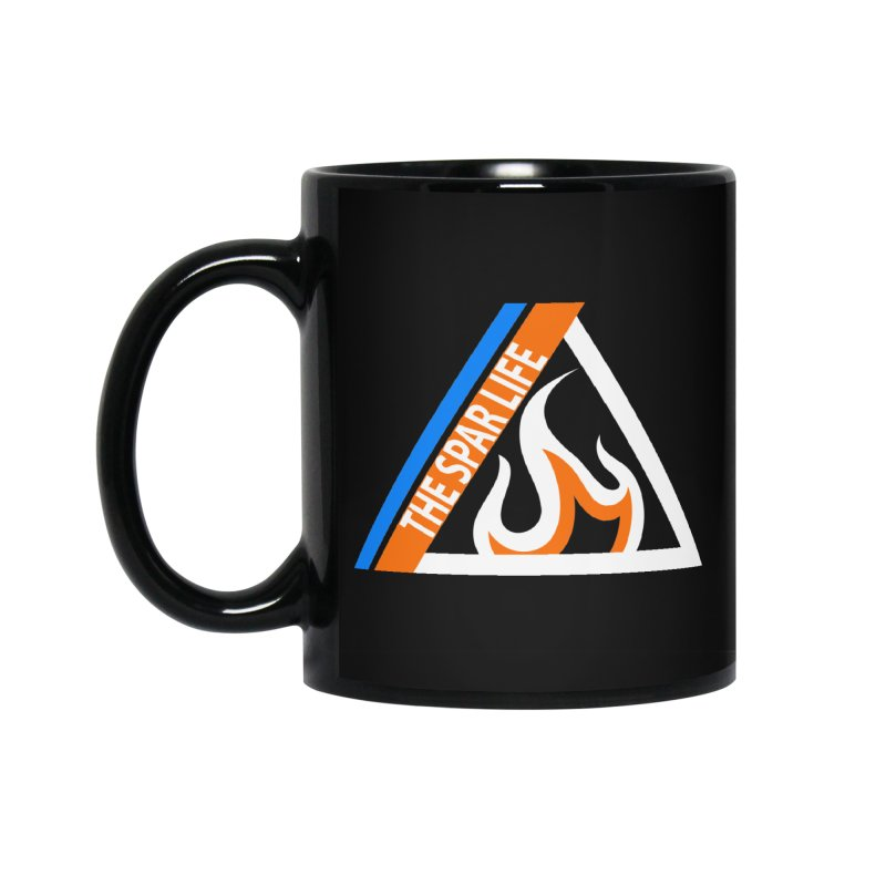 HAMMER SPAR LOGO Accessories Standard Mug by Hammer Apparel Shop