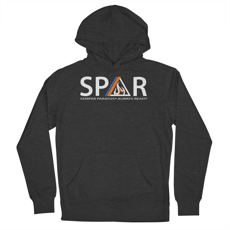 HAMMER SEMPER PARATUS Men's French Terry Pullover Hoody by Hammer Apparel Shop