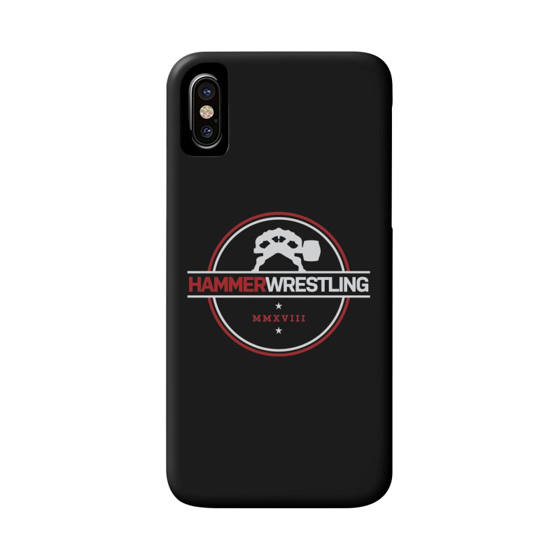 HAMMER MMXVII Accessories Phone Case by Hammer Wrestling's Apparel Shop