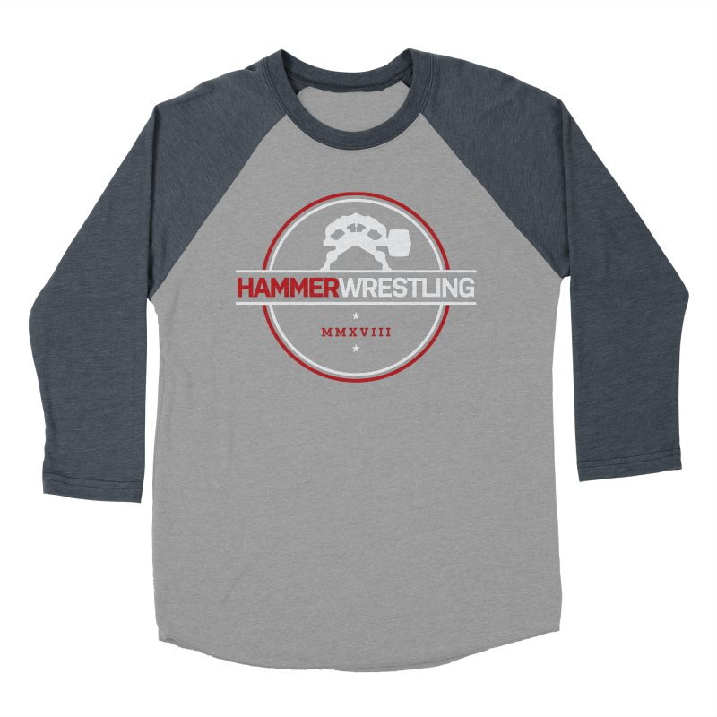 HAMMER MMXVII Women's Baseball Triblend Longsleeve T-Shirt by Hammer Apparel Shop