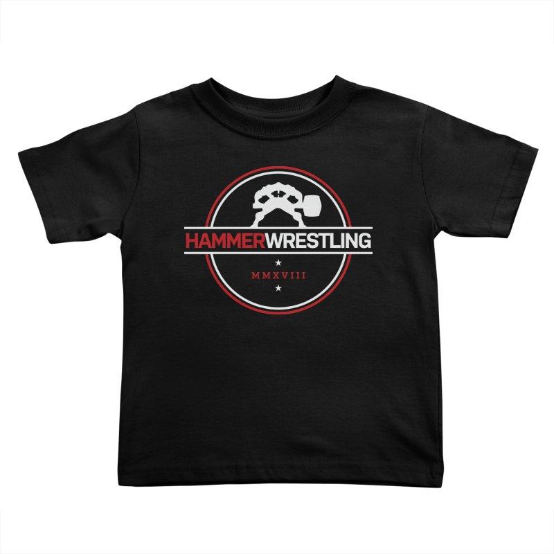 HAMMER MMXVII Kids Toddler T-Shirt by Hammer Wrestling's Apparel Shop