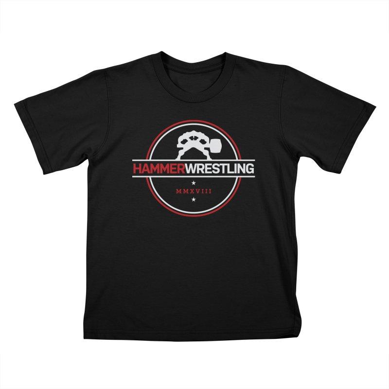 HAMMER MMXVII Kids T-Shirt by Hammer Wrestling's Apparel Shop