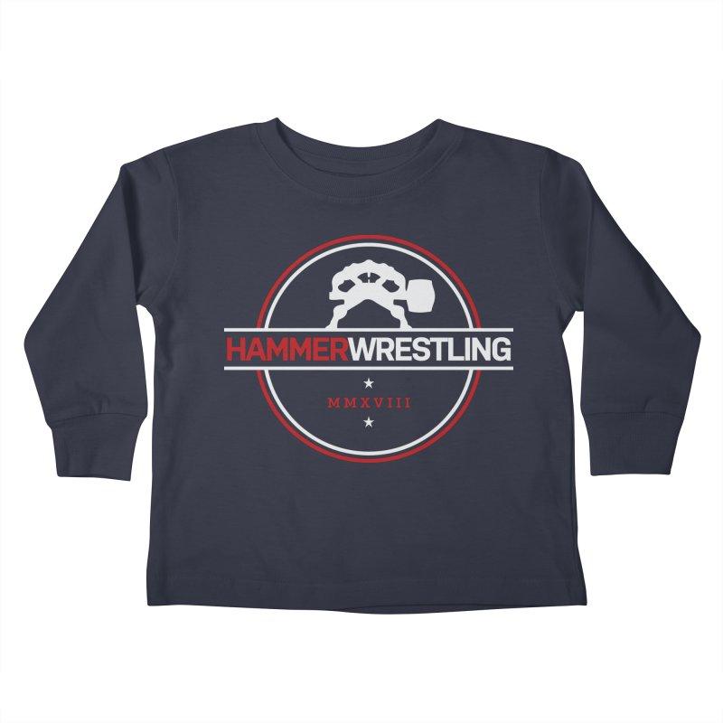 HAMMER MMXVII Kids Toddler Longsleeve T-Shirt by Hammer Apparel Shop