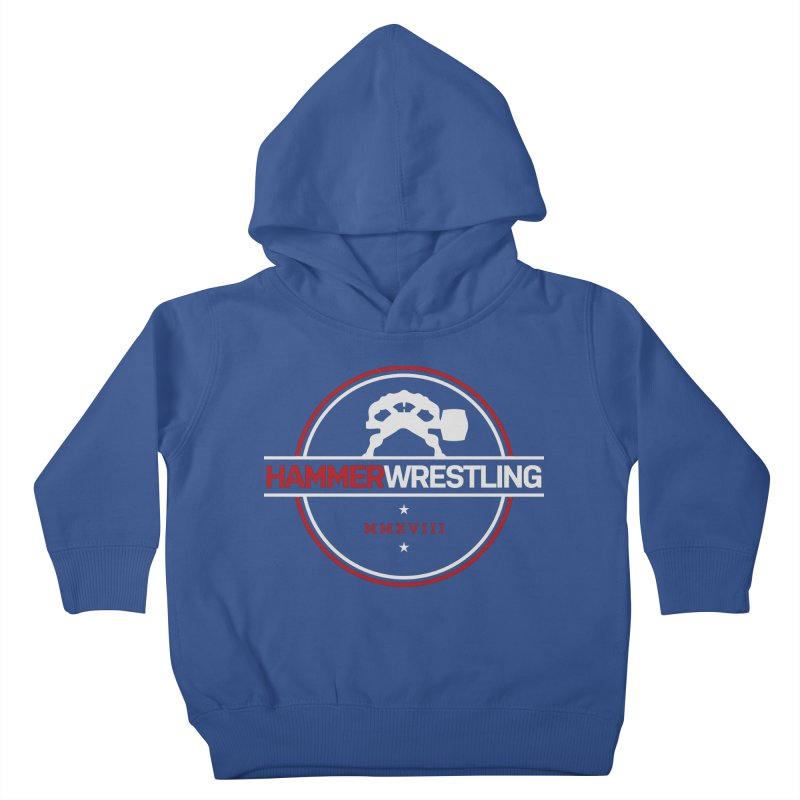 HAMMER MMXVII Kids Toddler Pullover Hoody by Hammer Wrestling's Apparel Shop