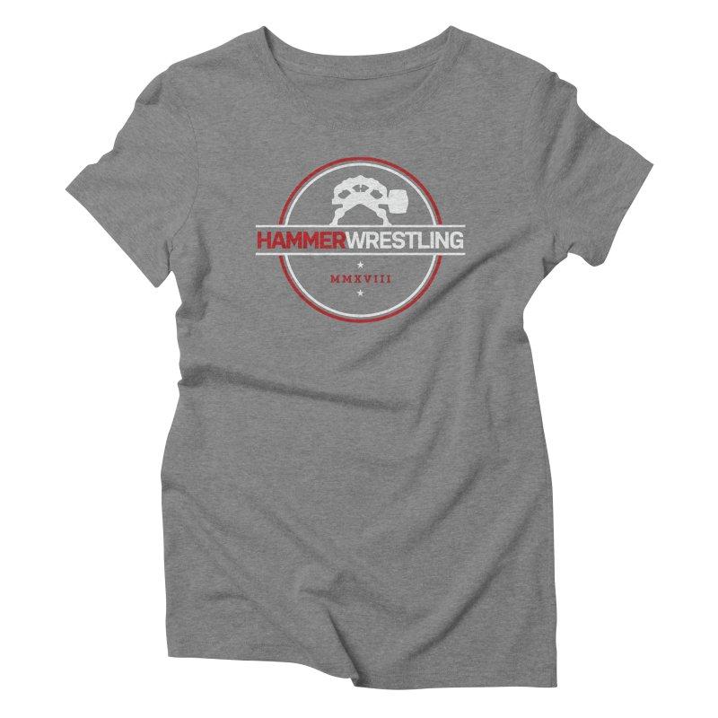 HAMMER MMXVII Women's Triblend T-Shirt by Hammer Apparel Shop