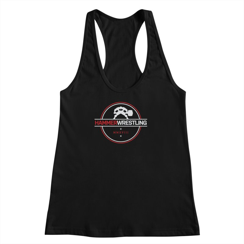 HAMMER MMXVII Women's Racerback Tank by Hammer Wrestling's Apparel Shop