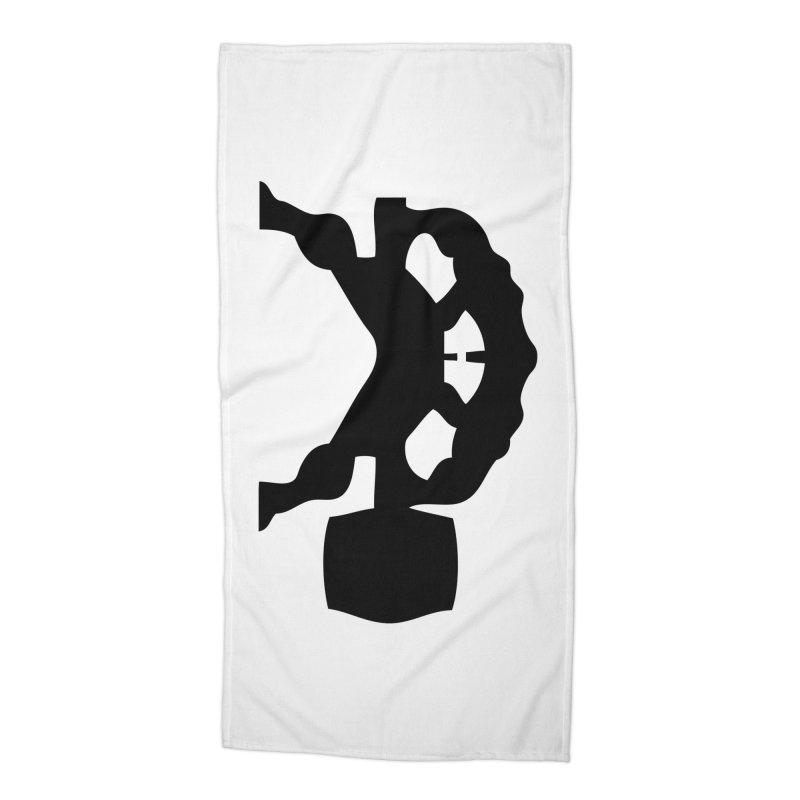 BLACK HAMMER Accessories Beach Towel by Hammer Wrestling's Apparel Shop