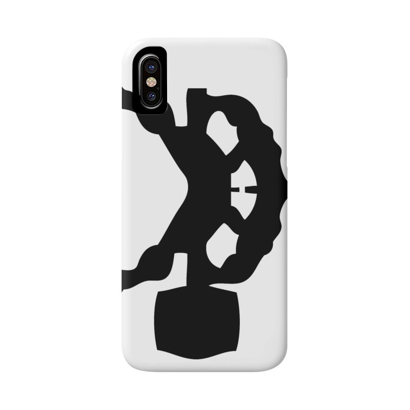 BLACK HAMMER Accessories Phone Case by Hammer Wrestling's Apparel Shop