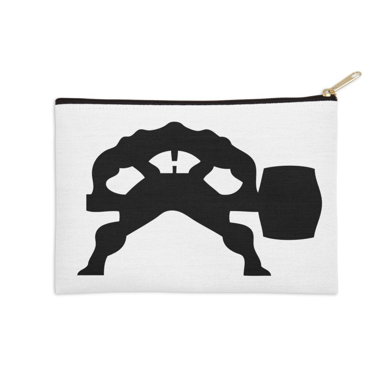 BLACK HAMMER Accessories Zip Pouch by Hammer Wrestling's Apparel Shop