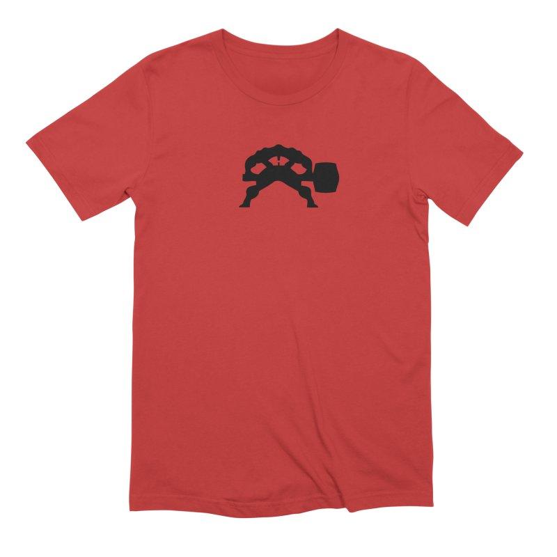 BLACK HAMMER Men's Extra Soft T-Shirt by Hammer Wrestling's Apparel Shop