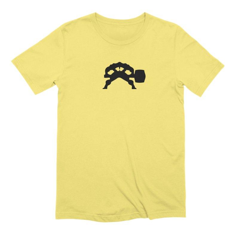 BLACK HAMMER Men's Extra Soft T-Shirt by Hammer Apparel Shop