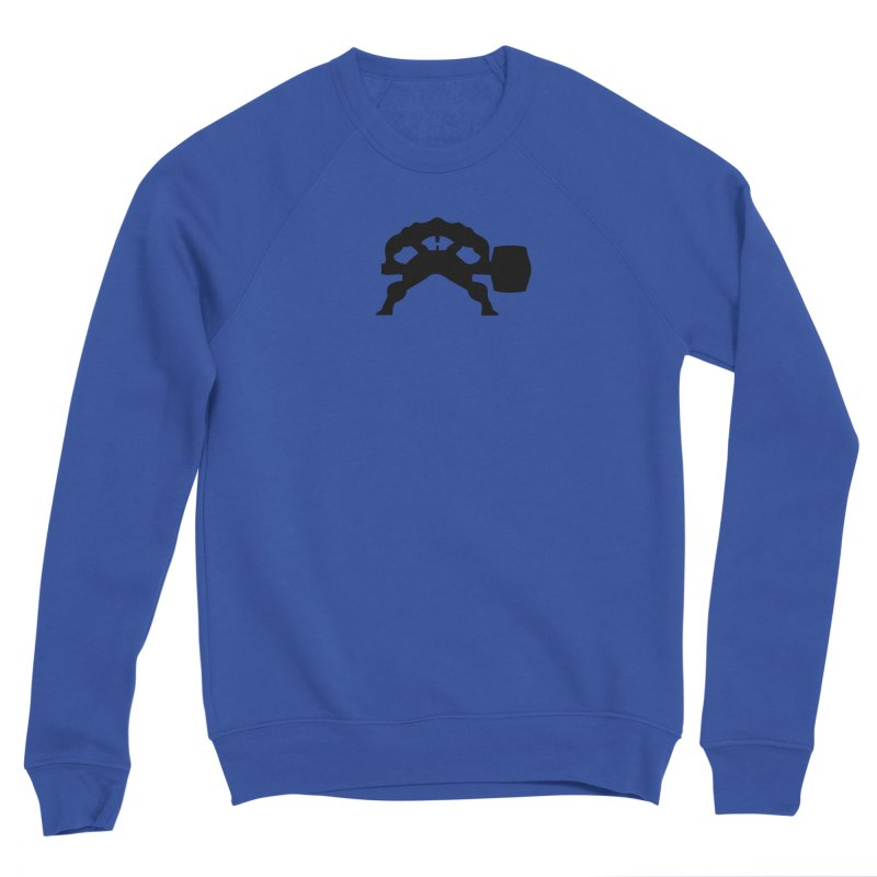 BLACK HAMMER Men's Sponge Fleece Sweatshirt by Hammer Apparel Shop