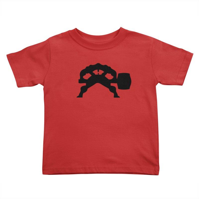 BLACK HAMMER Kids Toddler T-Shirt by Hammer Wrestling's Apparel Shop