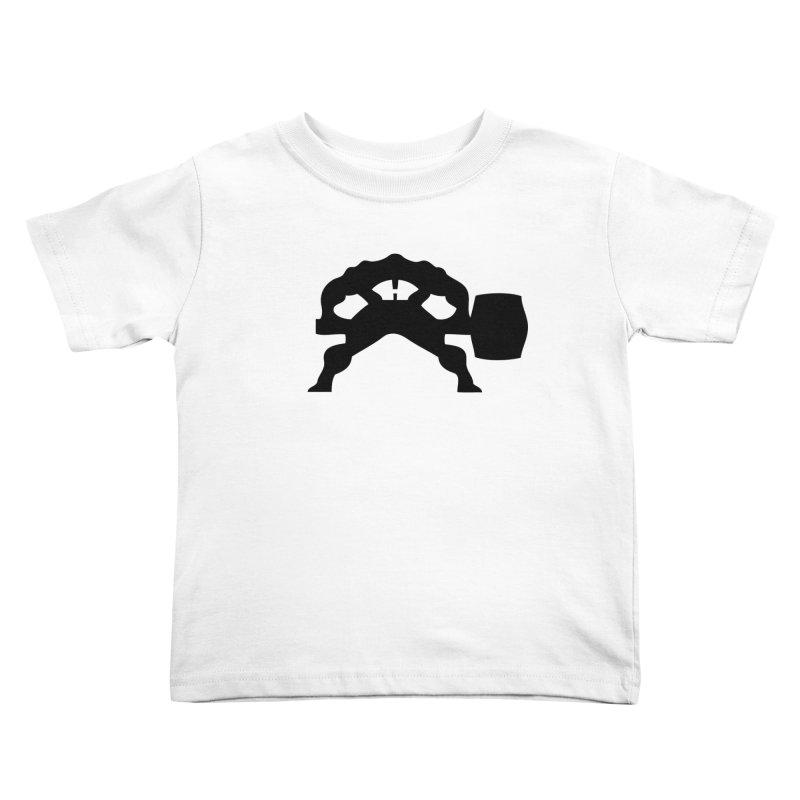 BLACK HAMMER Kids Toddler T-Shirt by Hammer Apparel Shop