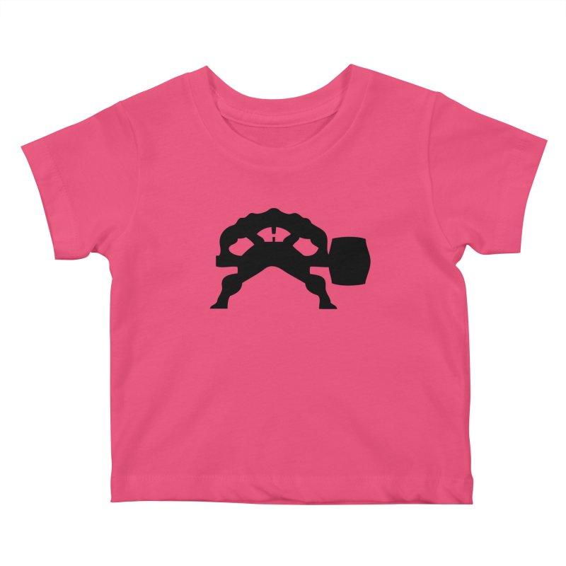 BLACK HAMMER Kids Baby T-Shirt by Hammer Apparel Shop