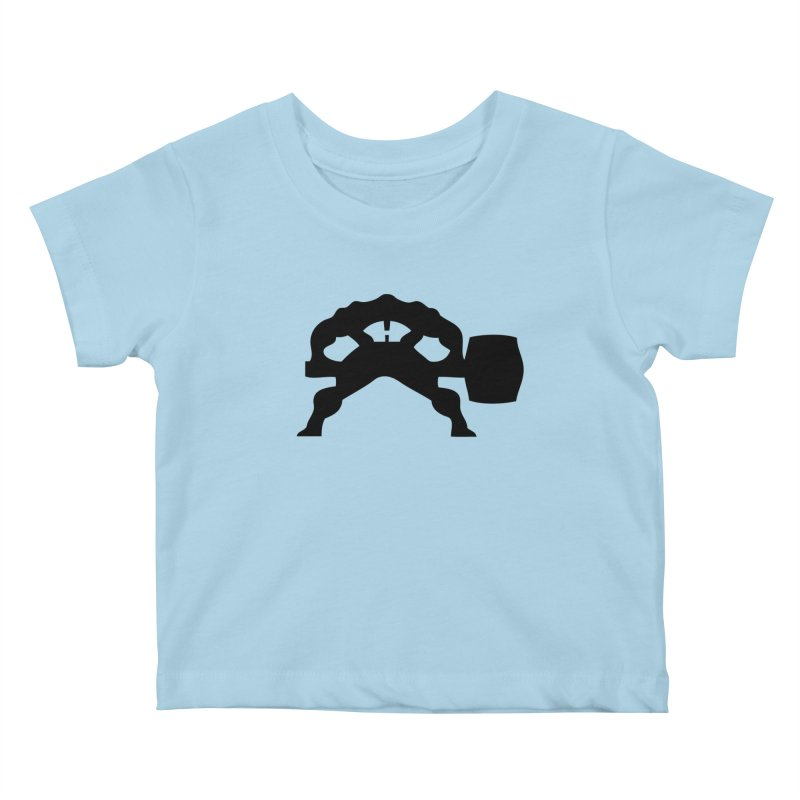 BLACK HAMMER Kids Baby T-Shirt by Hammer Life Apparel Shop