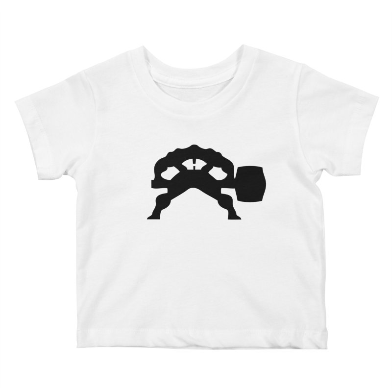 BLACK HAMMER Kids Baby T-Shirt by Hammer Wrestling's Apparel Shop