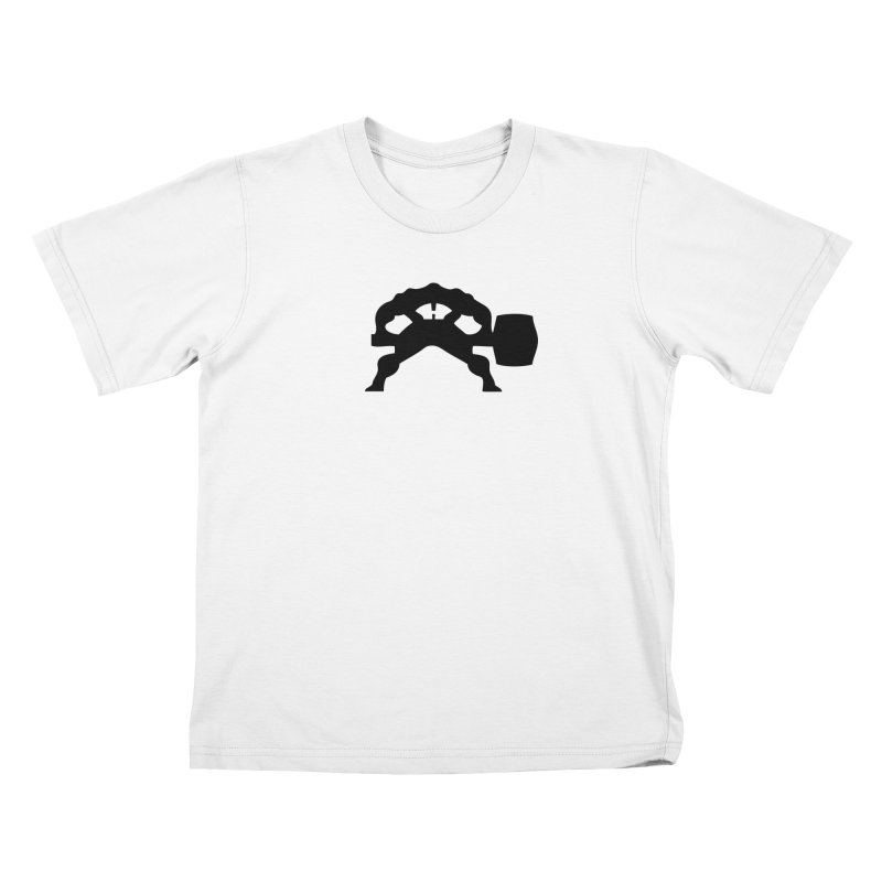 BLACK HAMMER Kids T-Shirt by Hammer Apparel Shop
