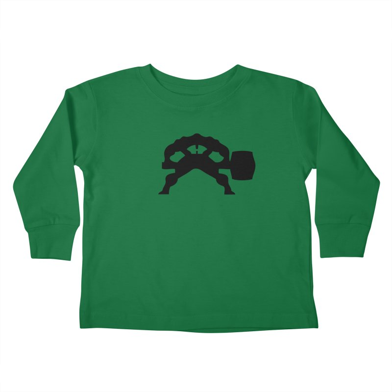 BLACK HAMMER Kids Toddler Longsleeve T-Shirt by Hammer Life Apparel Shop