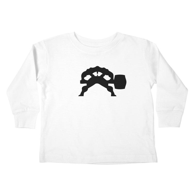 BLACK HAMMER Kids Toddler Longsleeve T-Shirt by Hammer Wrestling's Apparel Shop
