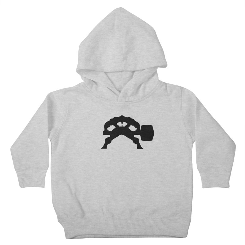 BLACK HAMMER Kids Toddler Pullover Hoody by Hammer Wrestling's Apparel Shop