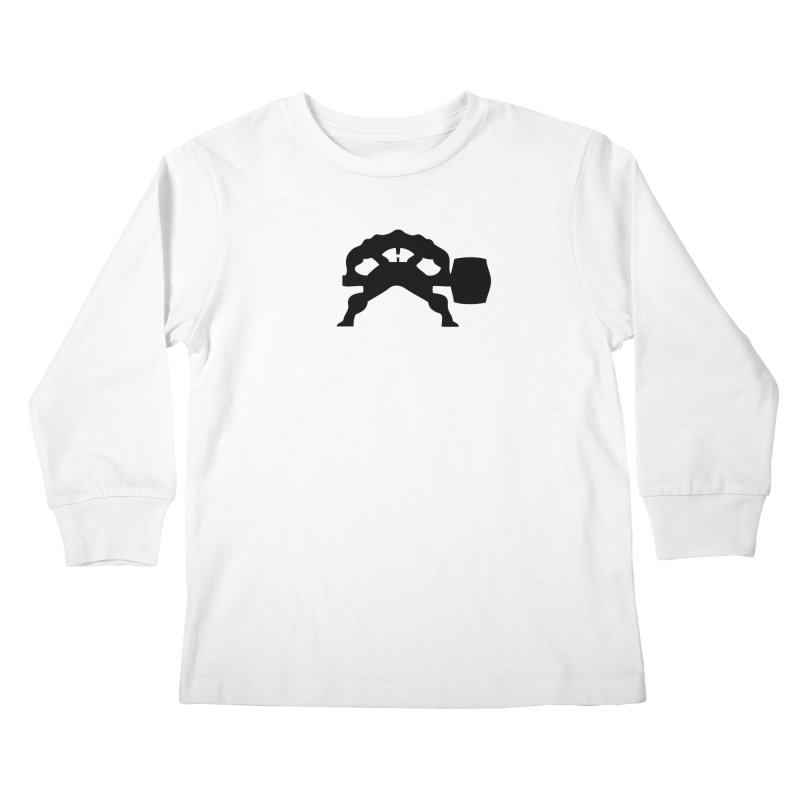 BLACK HAMMER Kids Longsleeve T-Shirt by Hammer Apparel Shop