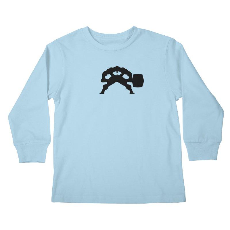 BLACK HAMMER Kids Longsleeve T-Shirt by Hammer Life Apparel Shop