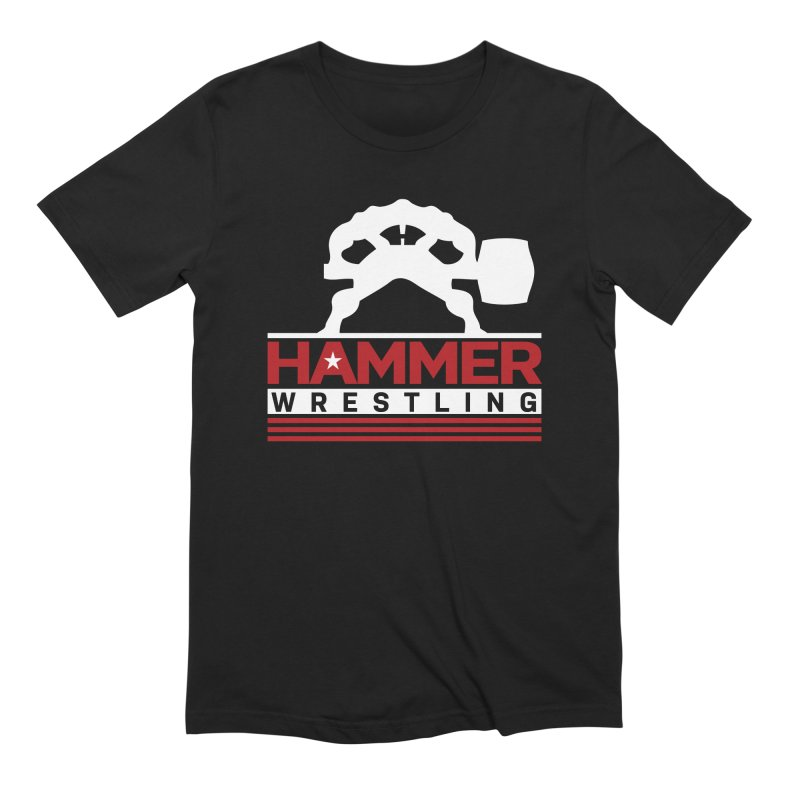 HAMMER USA Men's Extra Soft T-Shirt by Hammer Wrestling's Apparel Shop