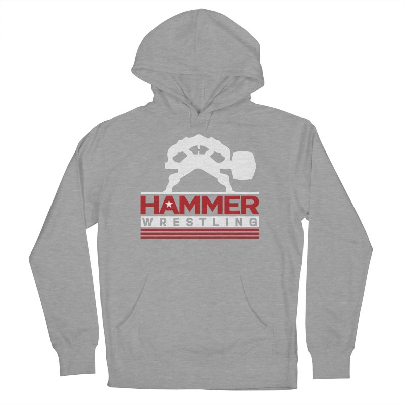 HAMMER USA Women's French Terry Pullover Hoody by Hammer Wrestling's Apparel Shop