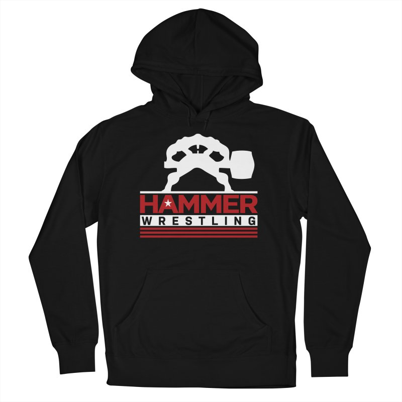 HAMMER USA Men's French Terry Pullover Hoody by Hammer Wrestling's Apparel Shop