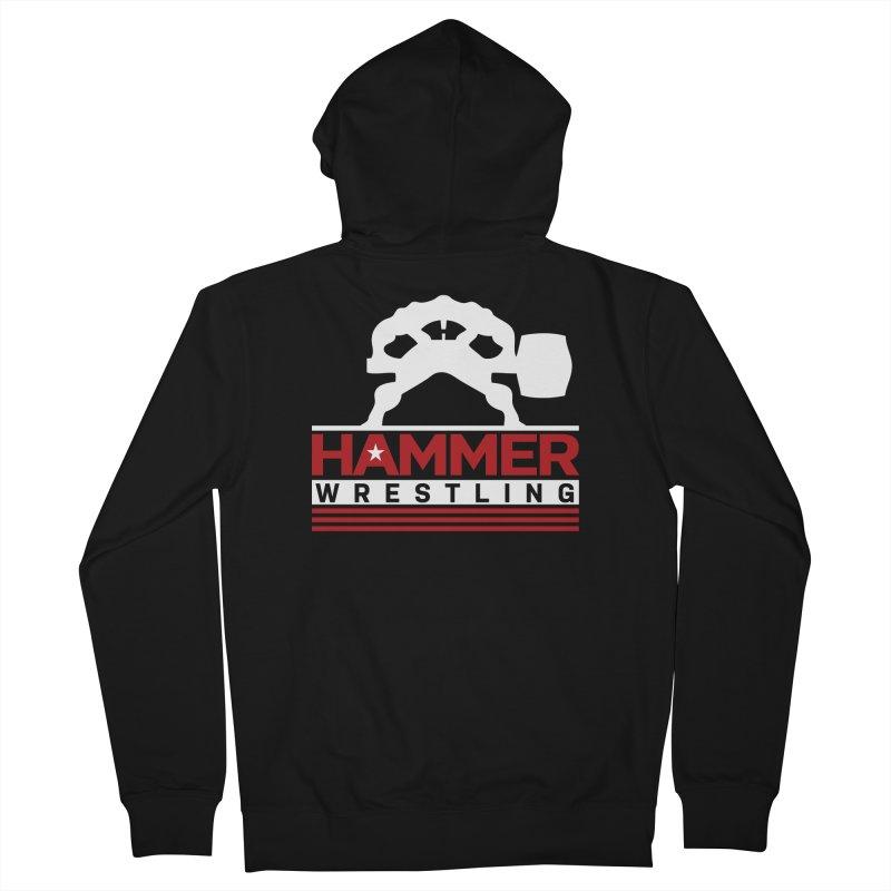 HAMMER USA Men's Zip-Up Hoody by Hammer Wrestling's Apparel Shop