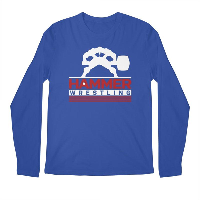 HAMMER USA Men's Regular Longsleeve T-Shirt by Hammer Wrestling's Apparel Shop