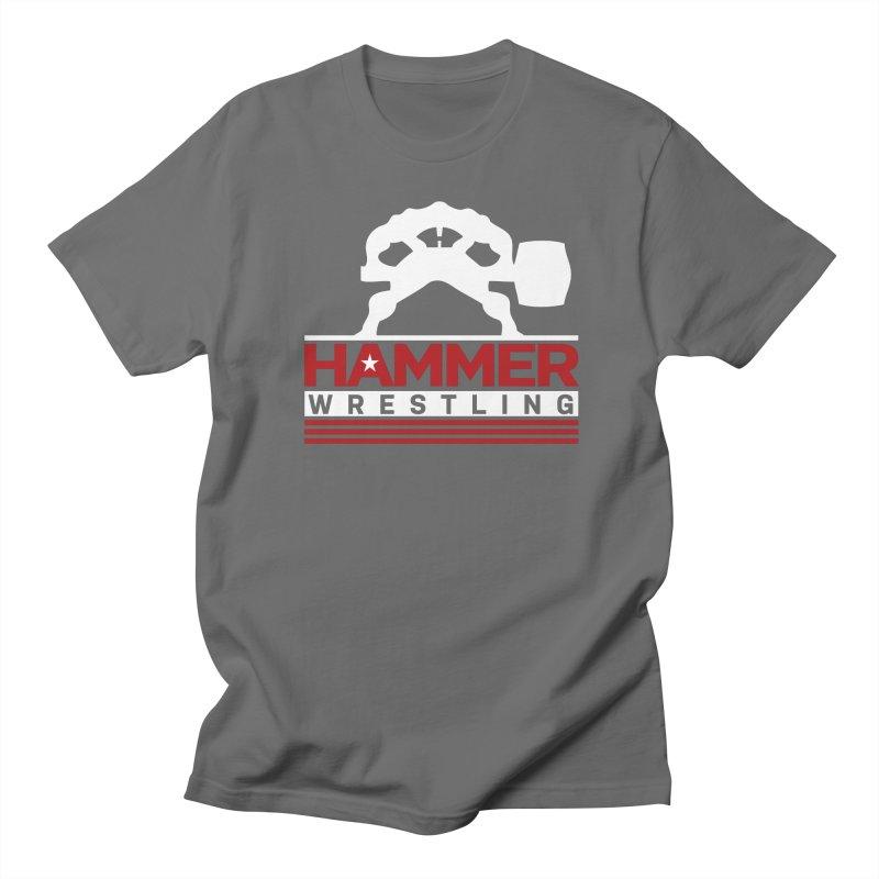 HAMMER USA Men's Regular T-Shirt by Hammer Wrestling's Apparel Shop