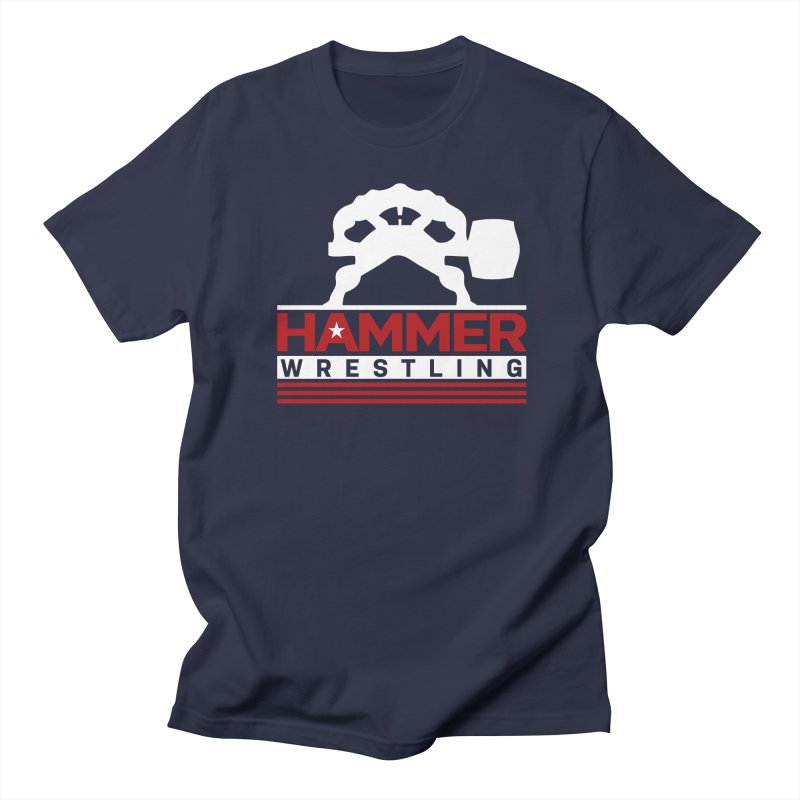 HAMMER USA Men's T-Shirt by Hammer Wrestling's Apparel Shop