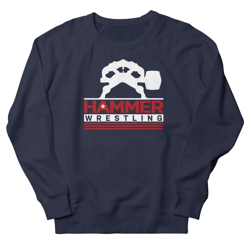 HAMMER USA Women's French Terry Sweatshirt by Hammer Wrestling's Apparel Shop