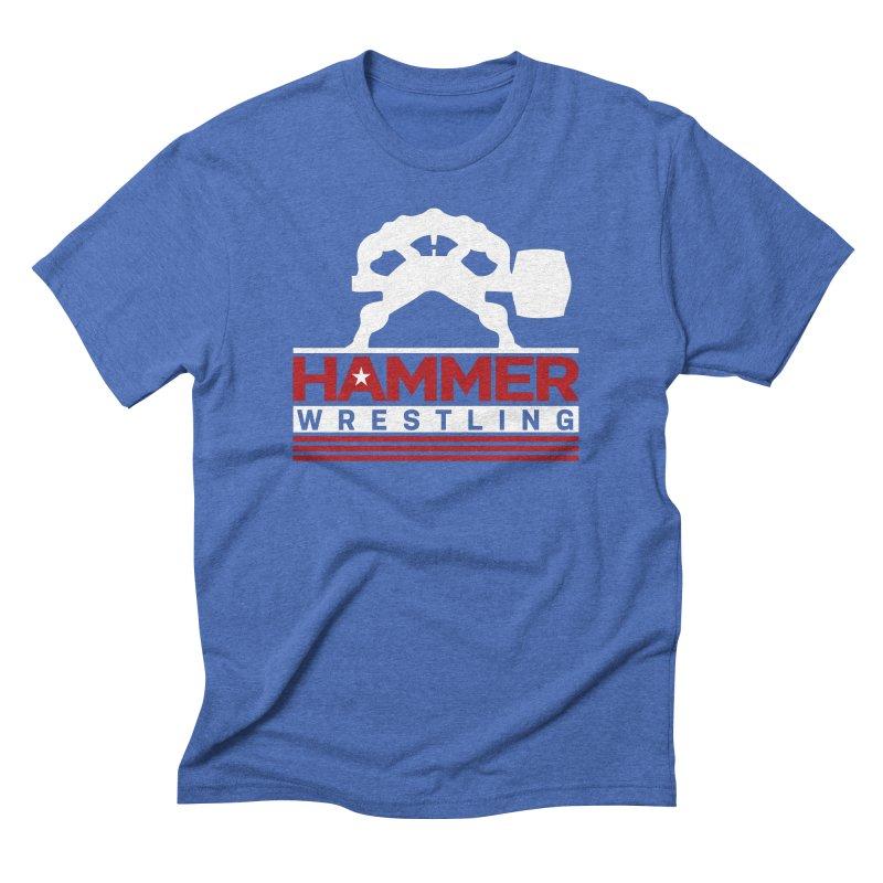 HAMMER USA Men's Triblend T-Shirt by Hammer Wrestling's Apparel Shop