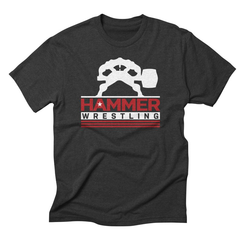 HAMMER USA Men's Triblend T-Shirt by Hammer Wrestling's Apparel Shop