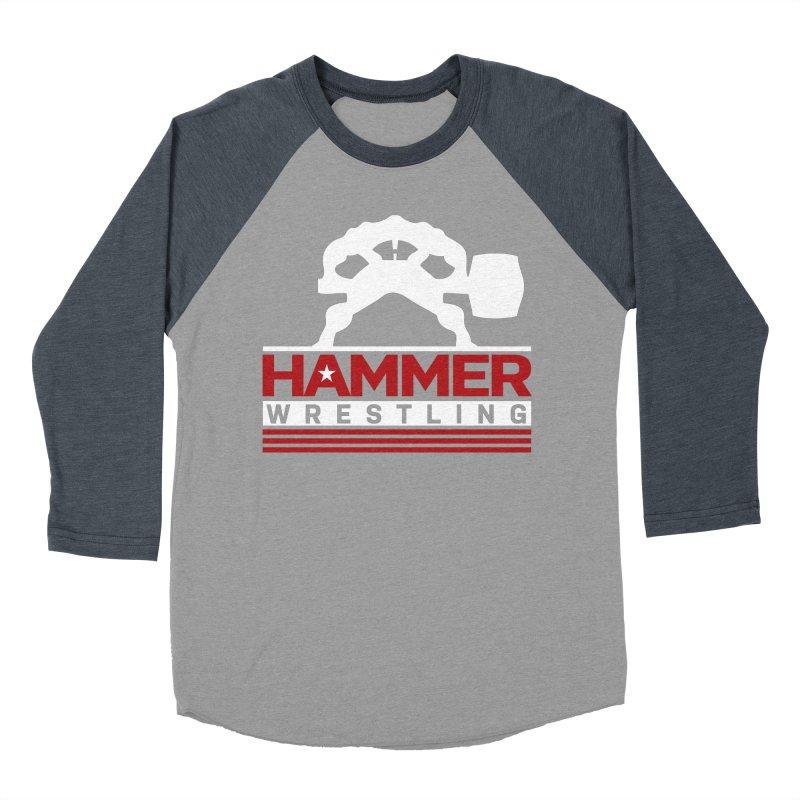 HAMMER USA Women's Baseball Triblend Longsleeve T-Shirt by Hammer Life Apparel Shop
