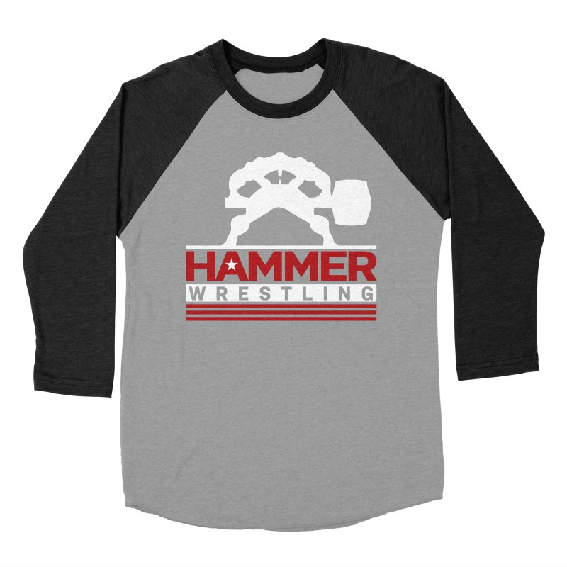 HAMMER USA Men's Baseball Triblend Longsleeve T-Shirt by Hammer Life Apparel Shop