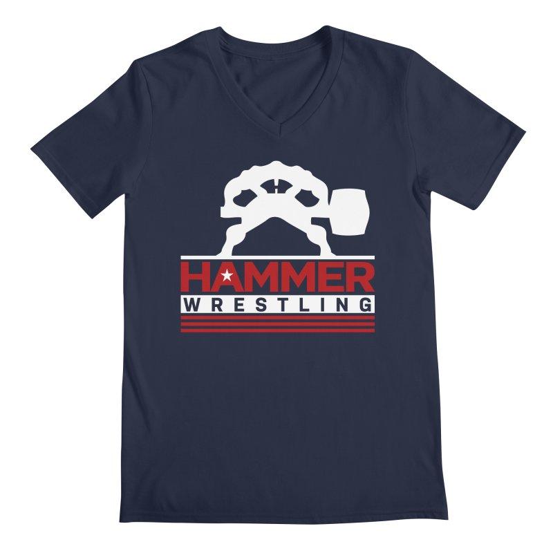 HAMMER USA Men's Regular V-Neck by Hammer Apparel Shop