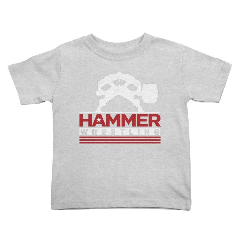 HAMMER USA Kids Toddler T-Shirt by Hammer Wrestling's Apparel Shop