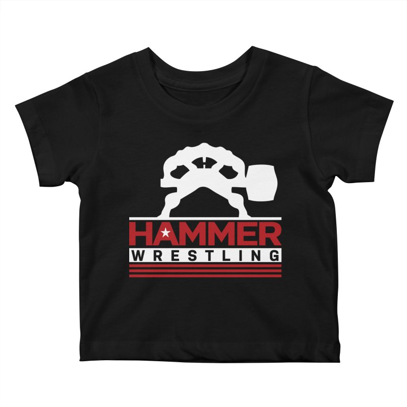 HAMMER USA Kids Baby T-Shirt by Hammer Wrestling's Apparel Shop