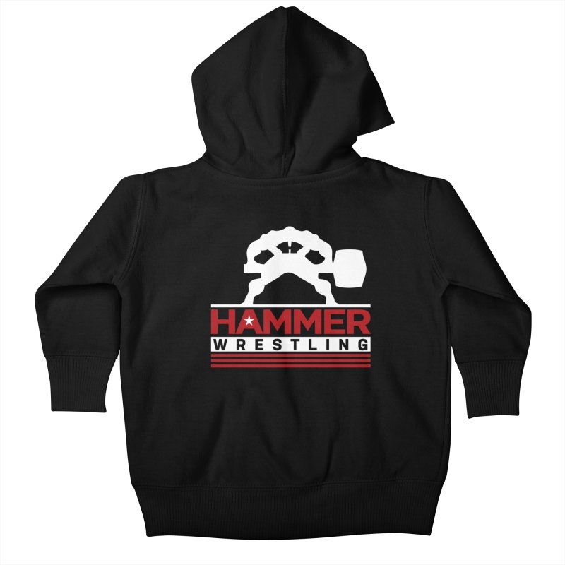 HAMMER USA Kids Baby Zip-Up Hoody by Hammer Wrestling's Apparel Shop