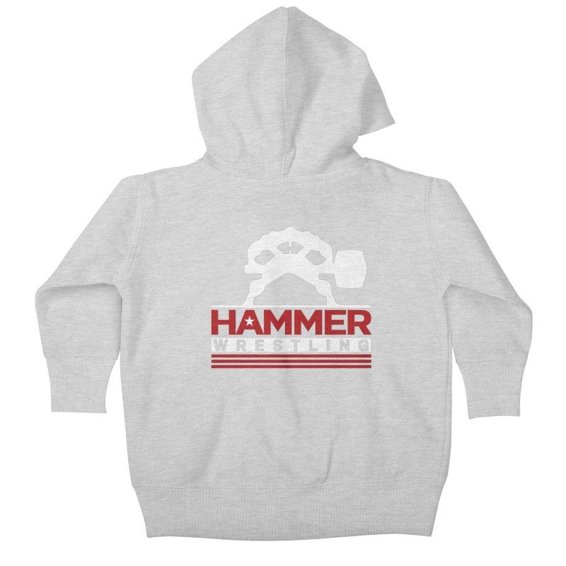 HAMMER USA Kids Baby Zip-Up Hoody by Hammer Wrestling's Apparel Shop