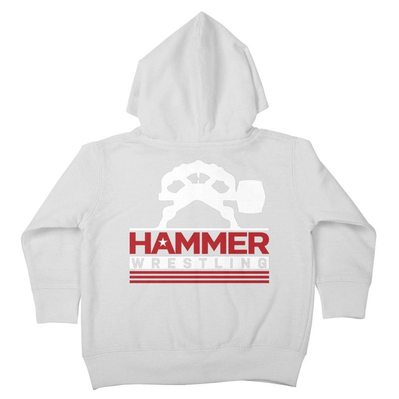 HAMMER USA Kids Toddler Zip-Up Hoody by Hammer Wrestling's Apparel Shop